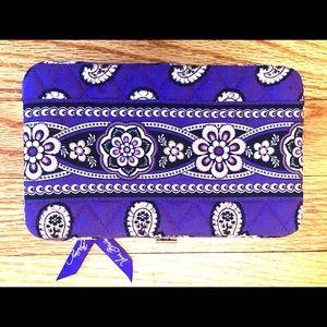 Vera Bradley Paisley Print Hard Case Wallet